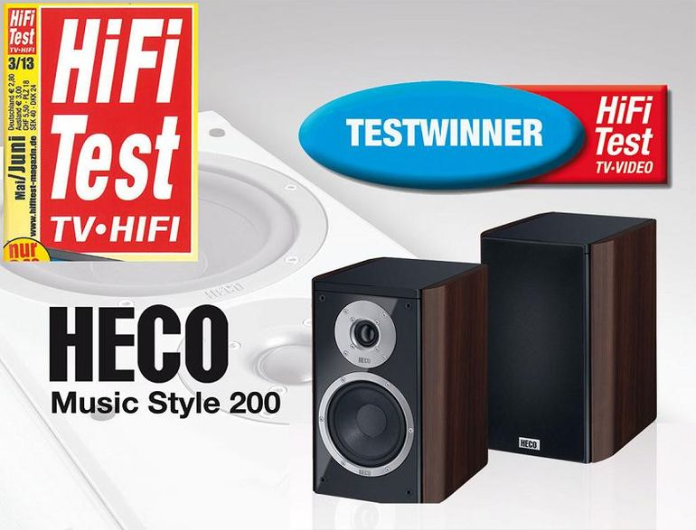 HECO Music Style 200 White