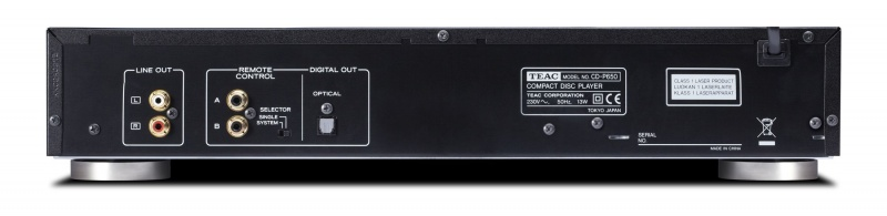 TEAC CD-P650 black